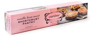 Careme - Vanilla Bean Sweet Shortcrust Pastry 435g
