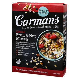 Carman's - Classic Fruit & Nut Muesli 500g