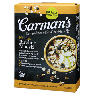 Carman's - Natural Bircher Muesli 500g