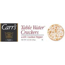 Carr's - Table Water Cracked Pepper Crackers 125g
