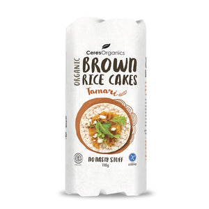 Ceres Organics - Brown Rice Cakes - Tamari 110g