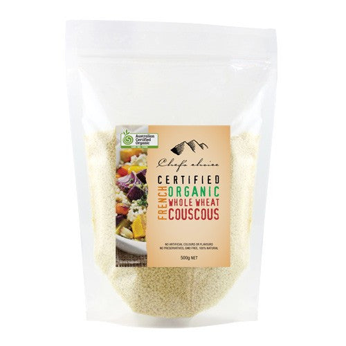 Chefs Choice - Organic French Wholewheat Couscous 500g