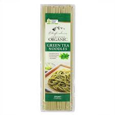 Chefs Choice - Organic Green Tea Noodles 200g