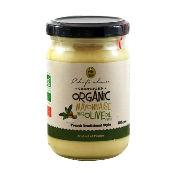 Chefs Choice - Organic Mayonnaise with Olive Oil 185g