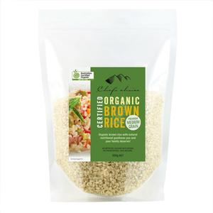 Chefs Choice - Organic Brown Rice 500g