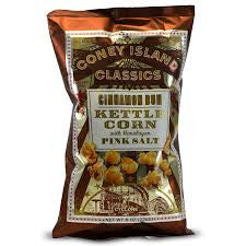 Coney Island - Cinnamon Bun Kettle Corn with Himalayan Pink Salt 226g