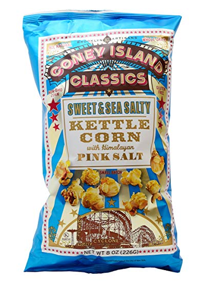Coney Island - Sweet & Sea Salty Artisan Popcorn with Himalayan Pink Salt 226g