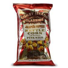Coney Island - Jalapeno Poppers Kettle Corn with Himalayan Pink Salt 226g