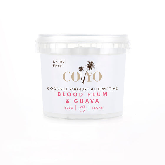 Coyo - Coconut Yoghurt Alternative Blood Plum & Guava 500g