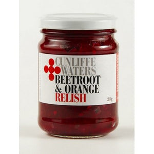 Cunliffe Waters - Beetroot & Orange Relish 260g