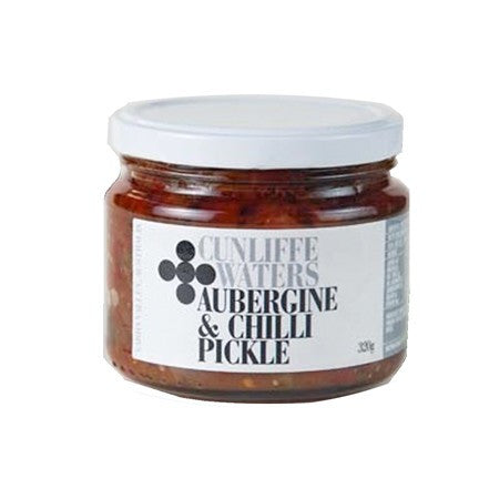 Cunliffe Waters - Aubergine & Chilli Pickle 320g