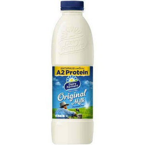 Dairy Farmers - Original Full Cream Milk 1 litre