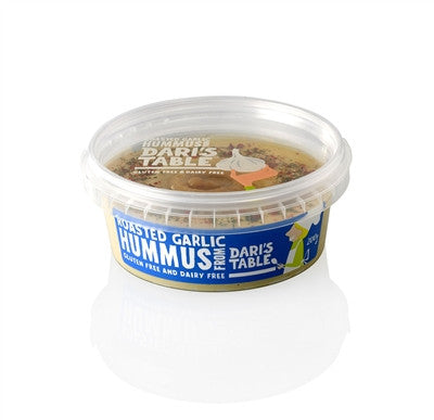 Dari's Table - Roasted Garlic Hummus 200g