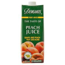 Dewlands - The taste of Peach Juice 1Lt