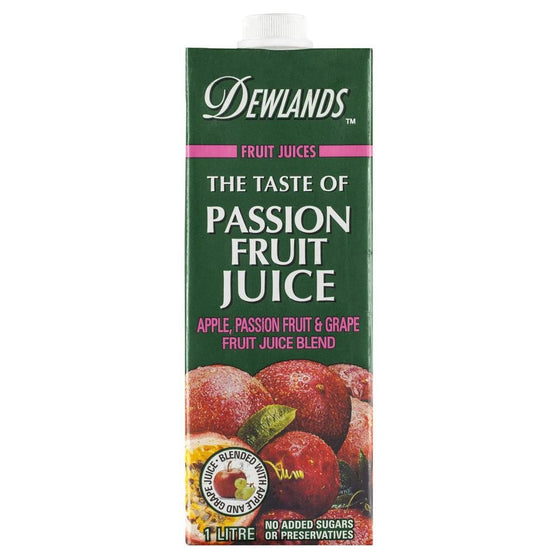Dewlands - The taste of Passion Fruit Juice 1Lt