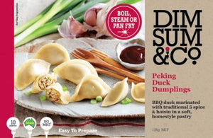 Dim Sum & Co - Peking Duck Dumplings 175g