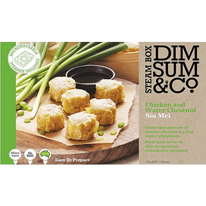 Dim Sum & Co - Chicken & Water Chestnut Siu Mei 270g