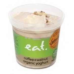 Eat Gourmet - Coffee + Walnut Organic Yoghurt 250g