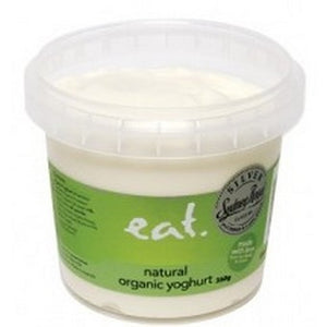 Eat Gourmet - Natural (Sweetened) Organic Yoghurt 350g
