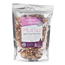 Eclipse Organics - Gluten Free Light & Crisp Toasted Muesli 450g