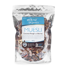 Eclipse Organics - Toasted Coconut Rough Muesli with Berries 500g