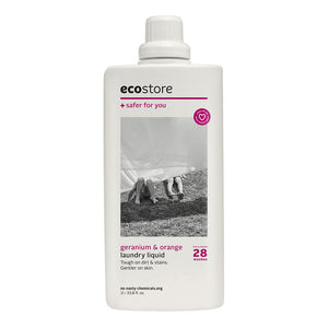 ecostore - Laundry Liquid Geranium & Orange 1Lt