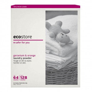 ecostore - Laundry Powder Top & Front Loader Geranium & Orange 1kg