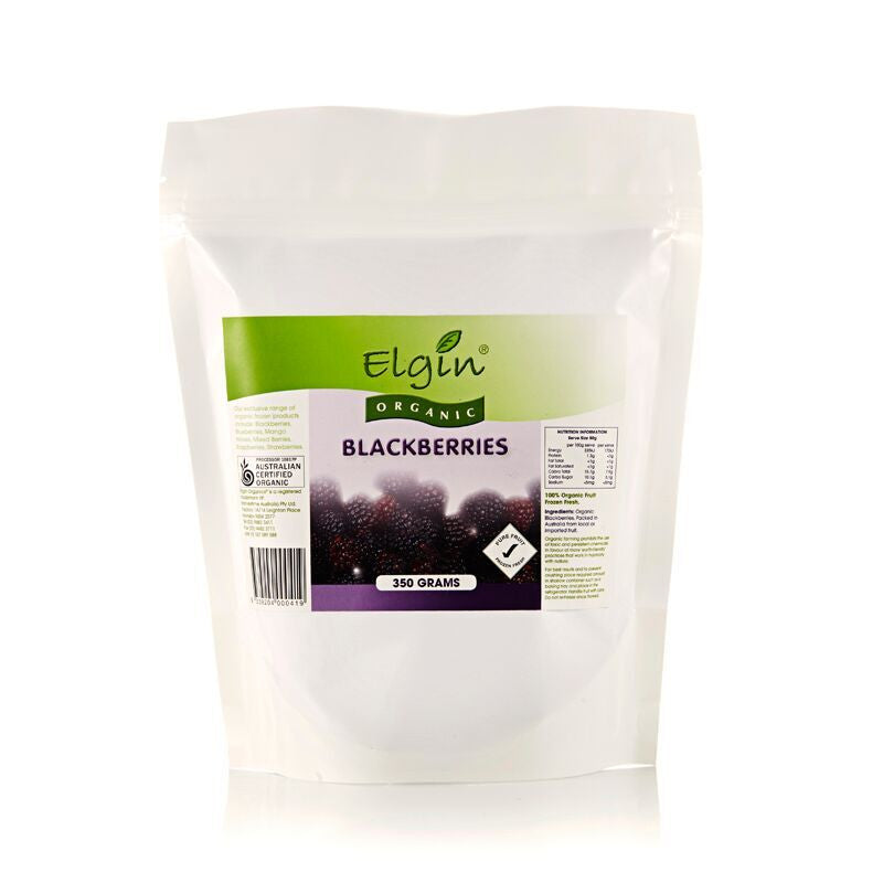 Elgin - Organic Blackberries 350g
