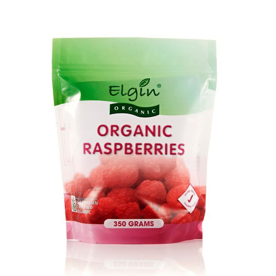 Elgin - Organic Raspberries 350g