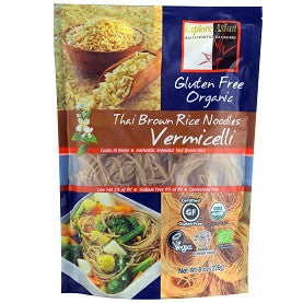 Explore Asia - Organic Thai Brown Rice Noodles Vermicelli 226g