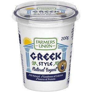 Farmers Union - Greek Style Natural Yoghurt 500g