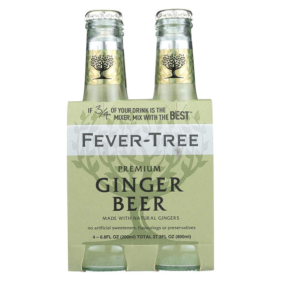 Fever-Tree - Premium Ginger Beer 4x200ml