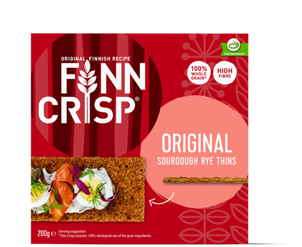 Finn Crisp - Original Sourdough Rye Thins 200g