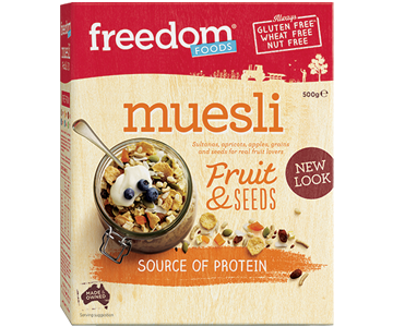 Freedom Foods - Muesli w/Fruit & Seeds 500g