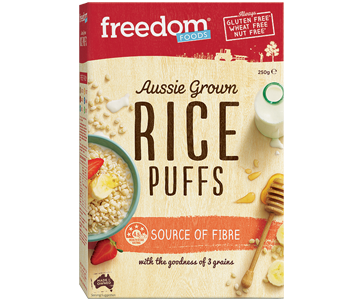 Freedom Foods - Rice Puffs 250g