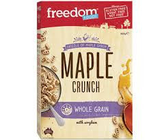 Freedom Foods - Maple Crunch 300g