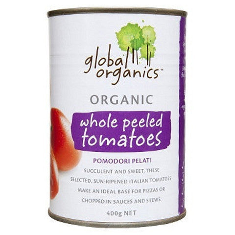 Global Organics - Chopped Tomatoes 400g