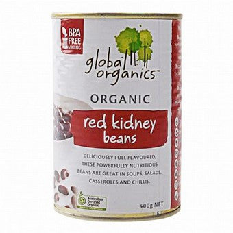 Global Organics - Red Kidney Beans 400g