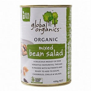 Global Organics - Mixed Bean Salad 400g