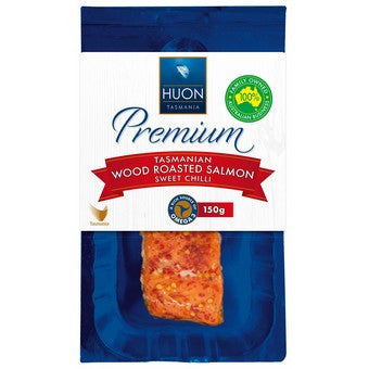 Huon - Premium Tasmanian Wood Smoked Salmon Sweet Chilli 150g