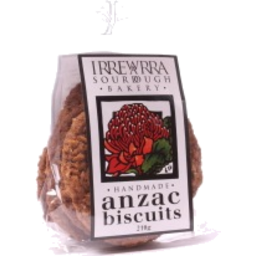 Irrewarra Sourdough Bakery - Handmade Anzac Biscuits 210g