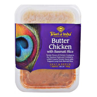 Jewel of India - Butter Chicken with Basmati Rice 350g