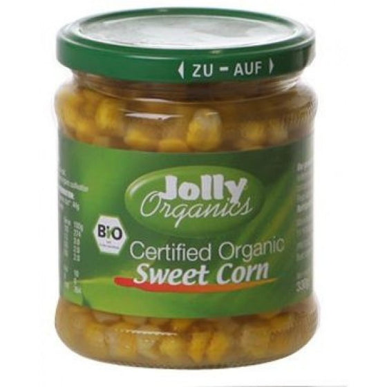 Jolly Organics - Organic Sweet Corn 330g
