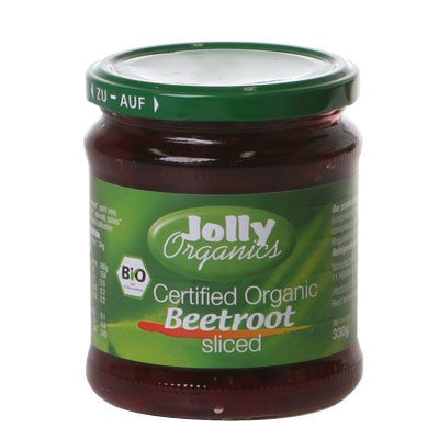 Jolly Organics - Organic Sliced Beetroot 330g