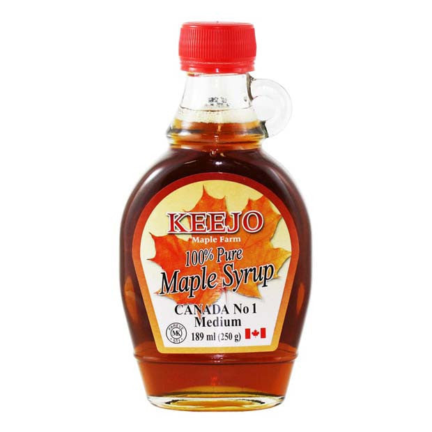 Keejo - 100% Pure Maple Syrup 189ml