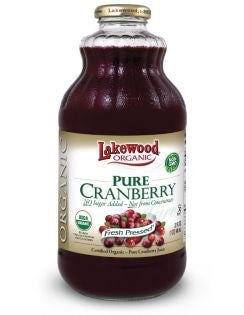 Lakewood - Pure Cold Pressed Cranberry Juice 946ml