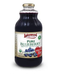 Lakewood - Pure Organic Blueberry Juice 946ml