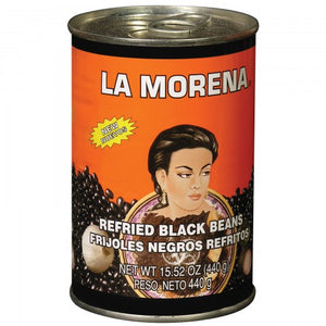 La Morena - Black Beans Refried 440g