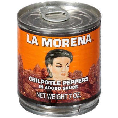 La Morena - Chipotle Peppers in Adobo Sauce 200g