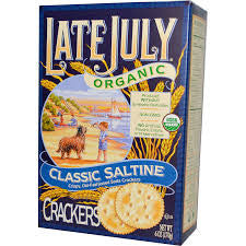 Late July - Organic Classic Saltine Crackers 170g